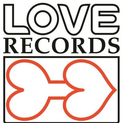 Love Recordsin tunnus.