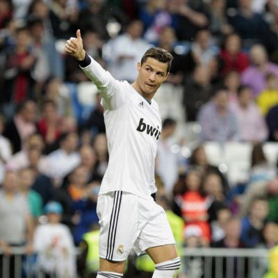 Cristiano Ronaldo on Real Madridin tähtipelaaja.