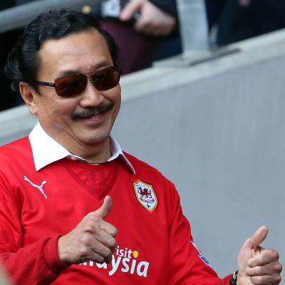 Cardiffin omistaja Vincent Tan.
