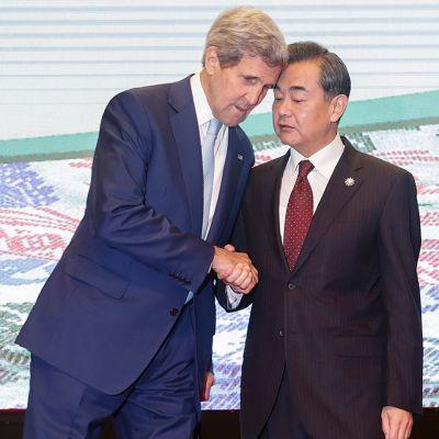 John Kerry ja Wang Yi