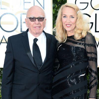 Rupert Murdoch ja Jerry Hall