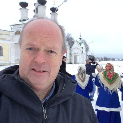 Norjan yleisradion NRK:n Moskovan kirjeenvaihtaja Morten Jentoft.