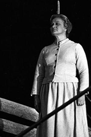 Ritva Auvinen Joonas Kokkosen oopperassa Viimeiset kiusaukset 1975.