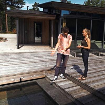 Kasper Strömman på Villa Korsholmen, 2016