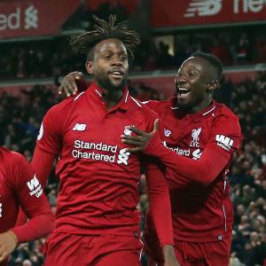Liverpool firar.