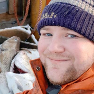 Fiskare Nicklas Homström.
