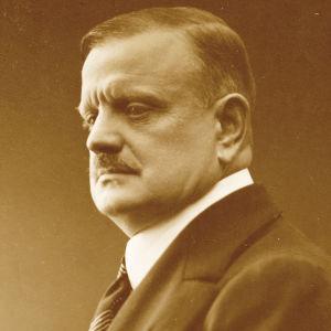 Säveltäjä Jean Sibelius 1918