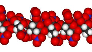 Molekylmodell av bomullskrut.