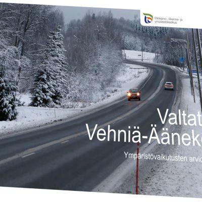 YVA-selostuksen kansilehti.