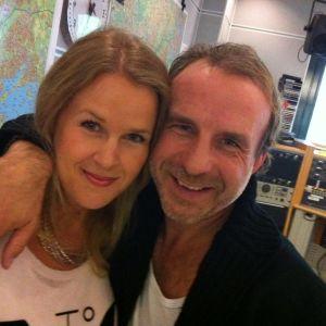 Hannah Norrena och Patrik Isaksson