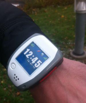 GPS-sändare som används inom demensvården