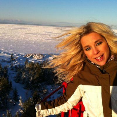 Krista Sigrieds på besök i Kaskö