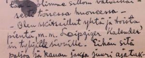 Aarre Merikannon kirje vankilasta 16.3.1918.