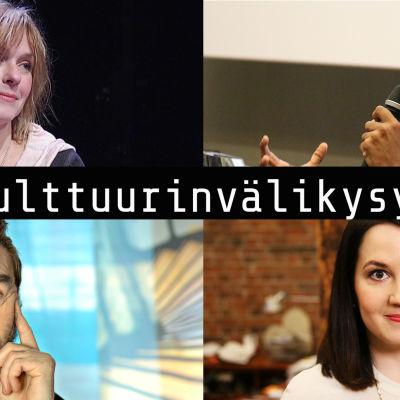 Leea Klemola, Jani Toivola, Kauko Röyhkä ja Sanni Grahn-Laasonen