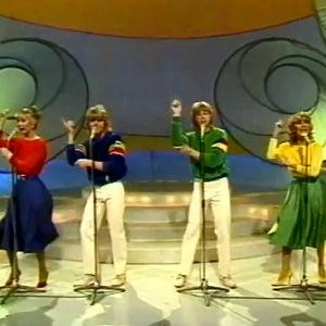 STorbritanniens Bucks fizz vann Eurovisionen år 1981.