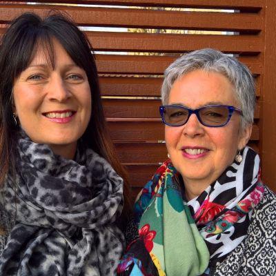 Melinda Backlund och Mary Ann-Pada