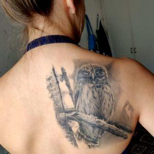 Tatuerad uggla
