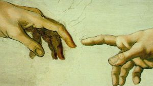 Kuva Michelangelon freskosta