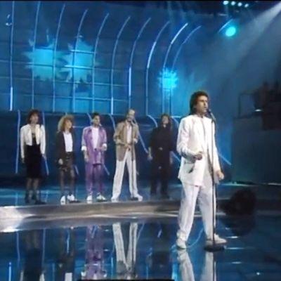 Italienska Toto Cutugno tog hem segern i Eurovisionen år 1990.