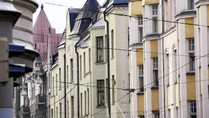 Gamla hus i Helsingfors