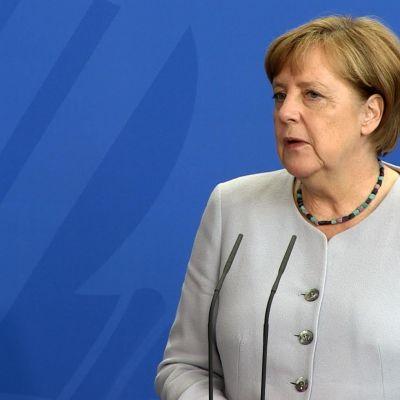 Förbundskansler Merkel ser ut att gå rätt så obehindrat mot en fjärde mandatperiod