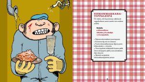 Siskonmakkaratippaleipä-ohje Fingerporin ruokakirjasta