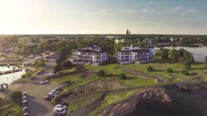 Regatta Resorts tilltänkta placering på Fabriksudden.