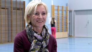 Marjaliisa Seppälä haastattelukuvassa.