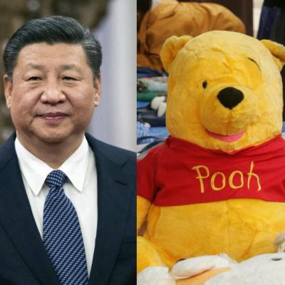 Kinas president Xi Jinping blir ofta jämförd med Nalle Puh på sociala medier.