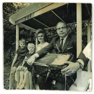 Eve Hietamiehen lapsuuden perhe