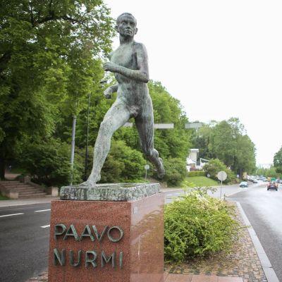Paavo Nurmen patsas Turussa