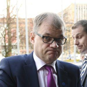 Statsminister Juha Sipilä