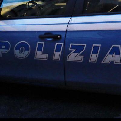 Italialainen poliisiauto.