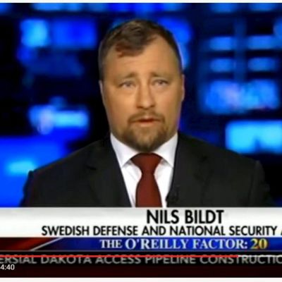 Nils Bildt Fox News kanavalla.