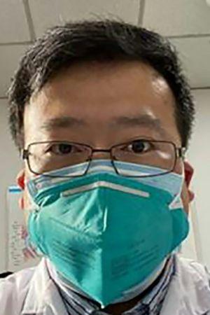 Li Wenliang, läkare i Wuhan som slog larm om coronaviruset 2019
