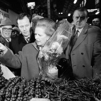 Margaret Thatcher vuonna 1984.