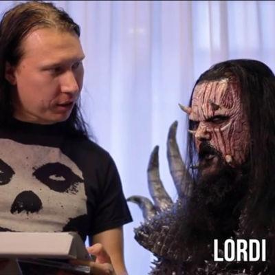 Kjell Simosas och Lordi.