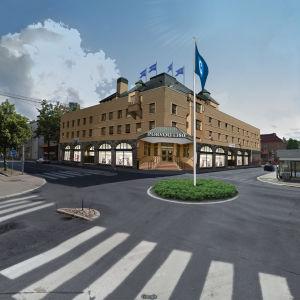 Idéskiss över Borgå centrum