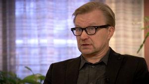 Sami Pirkola haastattelukuvassa