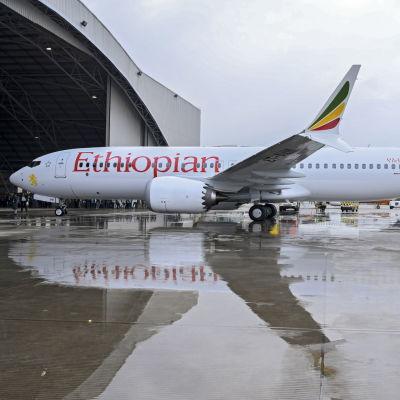Ethiopian Airlines olycksplan Boeing 737 MAX var av samma typ som störtade i Indonesien i oktober