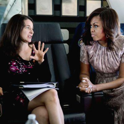 Sarah Hurwitz  ja Michelle Obama
