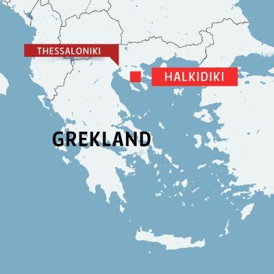 Karta över Gekland.