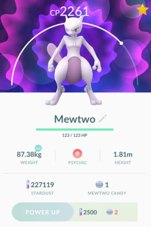 En speciell Pokémon Go-figur.