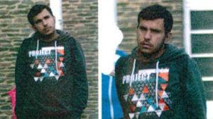 Bilder på Jaber al-Bakr, publicerade av tysk polis 8.10.2016