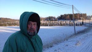 Ilkka Valtonen som bor på Lojoön i Lojo.