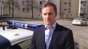 Kriminalöverkommissarie Juha Laaksonen