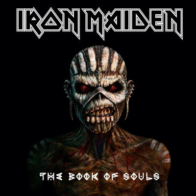 Omslaget till Iron Maidens album The Book Of Souls.