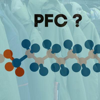 PFC-yhdisteitä takkien päällä