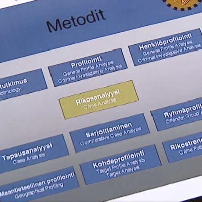 Profiloinnin metodit