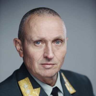 Norjan puolustusvoimien tiedustelupalvelun päällikkö, kenraaliluutnantti Kjell Grandhagen.
